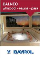 BALNEO whirlpool - sauna - pára